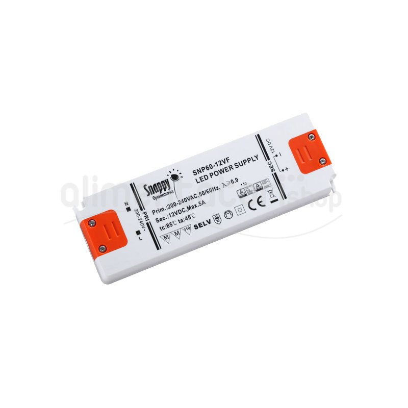 SNP60-500IF  SNP60-500IF - Alimentatore LED Snappy - CC - 60W / 500mA   Snappy  Alimentatori LED