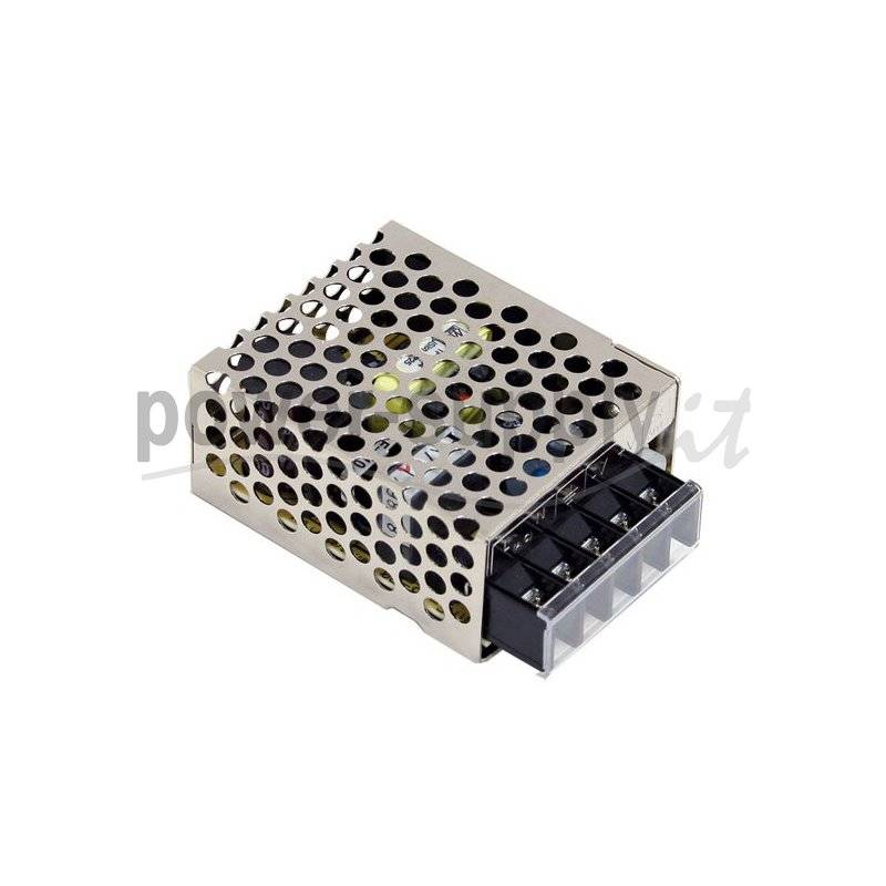 EPR-15-12  EPR-15-12 - Alimentatore Ecu El. - Box Metallo - 15W 12V - Ingresso 100-240 VAC  ECU Power-Supply  Alimentatori Au...