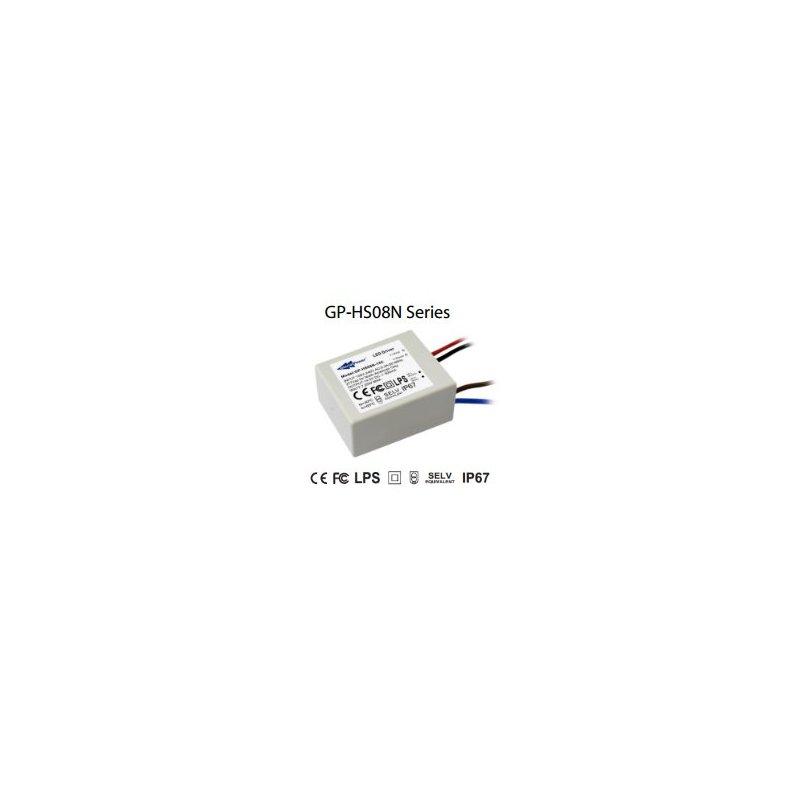 HS08N-28C Glacial Power HS08N-28C - Alimentatore LED Glacial Power - CC - 8W / 350mA Alimentatori LED