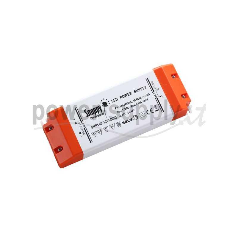 SNP100-12VL(UE)  SNP100-12VL(UE) Alimentatore LED Snappy - CV - 100W / 12V  Snappy  Alimentatori LED
