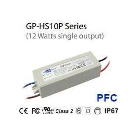 HS10P-24C - Alimentatore LED Glacial Power - CC - 12W / 500mA