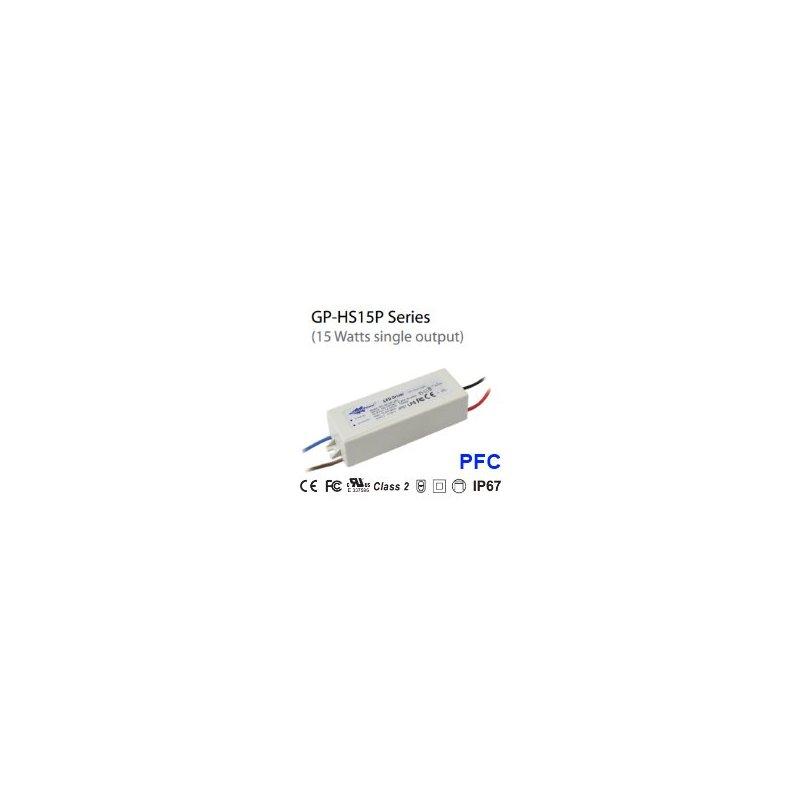 HS15P-36V , Alimentatori LED , Glacial Power