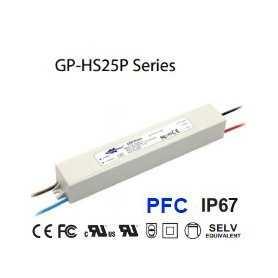 HS25P-48V Alimentatore LED Glacial Power - CV - 25W / 48V