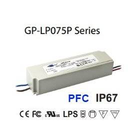 LP075P-48 Alimentatore LED Glacial Power - CV/CC - 75W / 48V / 1560mA