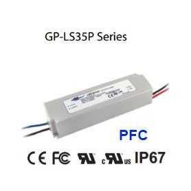 LS35P-42A - Alimentatore LED Glacial Power - CC - 35W / 700mA