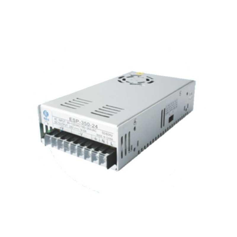 ESP-350-24  ESP-350-24 - Alimentatore Ecu El. - Box Metallo - 350W 24V - Ingresso 110/220 VAC  ECU Power-Supply  Alimentatori...