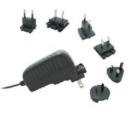 TPS-2401000ZZ  TPS-2401000ZZ - Alimentatore Top Power - Wallmount 24W 24V - Ingresso 100-240 VAC  Top Power  Alimentatori Wal...
