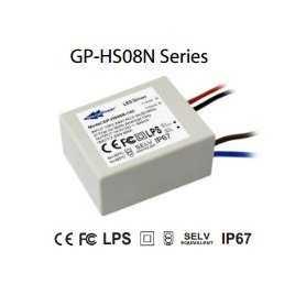 HS08N-21C1  Glacial Power  HS08N-21C1 - Alimentatore LED Glacial Power - CC - 8W / 300mA  Alimentatori LED