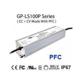 LS100P-12 Alimentatore LED Glacial Power - CV/CC - 100W / 12V / 8300mA