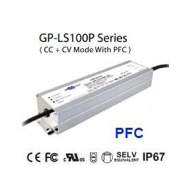LS100P-48  LS100P-48 Alimentatore LED Glacial Power - CV/CC - 100W / 48V / 2100mA   Glacial Power  Alimentatori LED