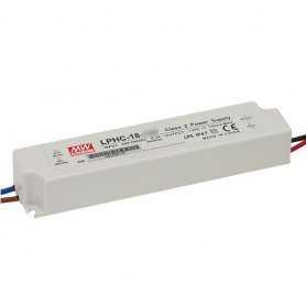 LPHC-18-350  LPHC-18-350 - Alimentatore LED MeanWell - CC - 16W / 350mA   MeanWell  Alimentatori LED