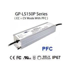 LS150P-24 Alimentatore LED Glacial Power - CV/CC - 150W / 24V / 6300mA