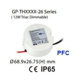 THA012-26 - Alimentatore LED Glacial Power - CC - 16W / 1000mA