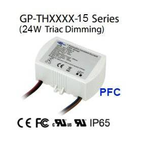 THA220-15 - Alimentatore LED Glacial Power - CC - 24W / 1200mA