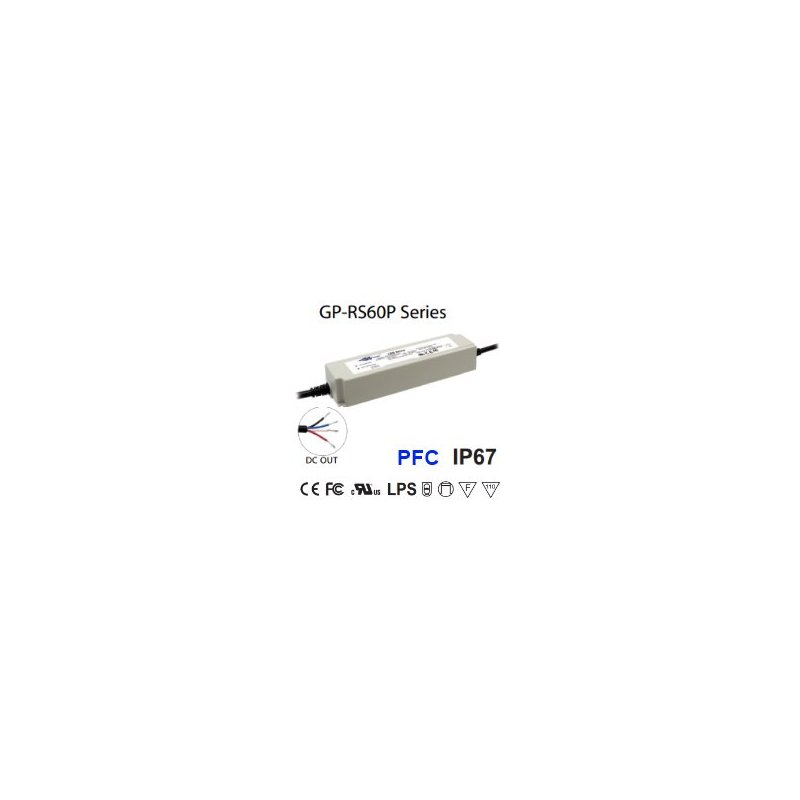 RS60P-24C  RS60P-24C  Glacial Power  Alimentatori LED