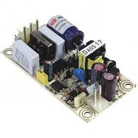 PS-05-15 - Alimentatore Meanwell - Open F. 5W 15V - Input 100-240 VAC