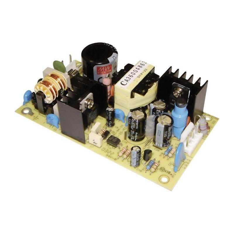 PS-25-3,3 MeanWell PS-25-3,3 - Alimentatore Meanwell - Open F. 25W 3,3V - Input 100-240 VAC Alimentatori Automazione