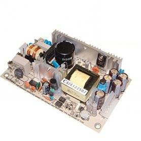 PS-45-5 - Alimentatore Meanwell - Open F. 45W 5V - Input 100-240 VAC