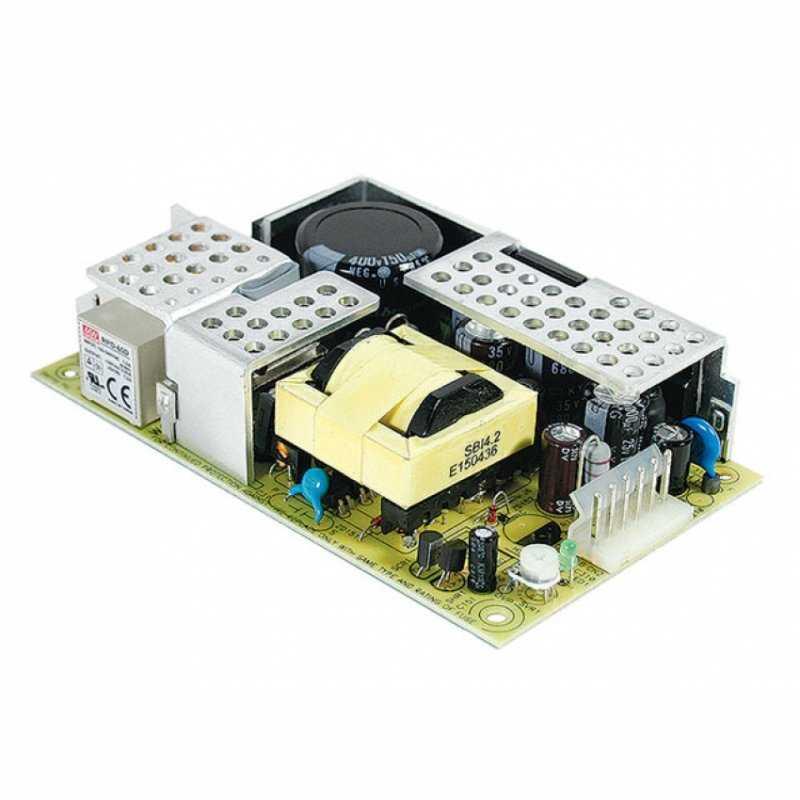 RPT-65E MeanWell RPT-65E - Alimentatore Meanwell - Open F. 65W 5V - Input 100-240 VAC Alimentatori Automazione
