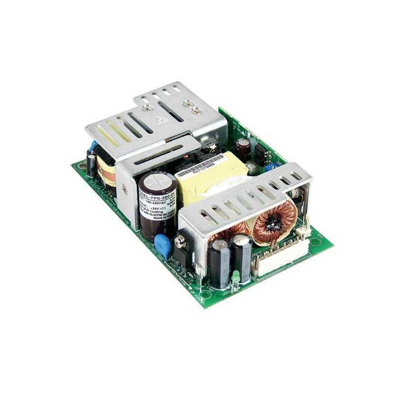 PPS-200-5 MeanWell PPS-200-5 - Alimentatore Meanwell - Open F. 200W 5V - Input 100-240 VAC Alimentatori Automazione