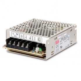 RS-50-24  RS-50-24 - Alimentatore Meanwell - Box Metallo - 50W 24V - Ingresso 100-240 VAC  MeanWell  Alimentatori Automazione