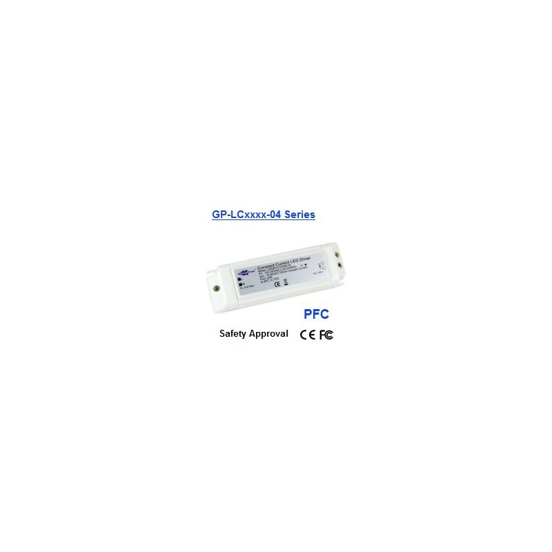 LC3554-04  LC3554-04 - Alimentatore LED Glacial Power - CC - 16W / 350mA   Glacial Power  Alimentatori LED
