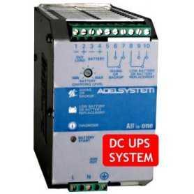 CBI243A  CBI243A- DC UPS System Evoluto Adelsystem - 72W / 24V / 3A  Adelsystem  Caricabatterie