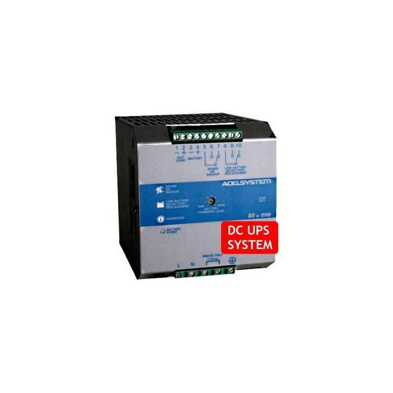 CBI485A  CBI485A- DC UPS System Evoluto Adelsystem - 240W / 48V / 5A  Adelsystem  Caricabatterie