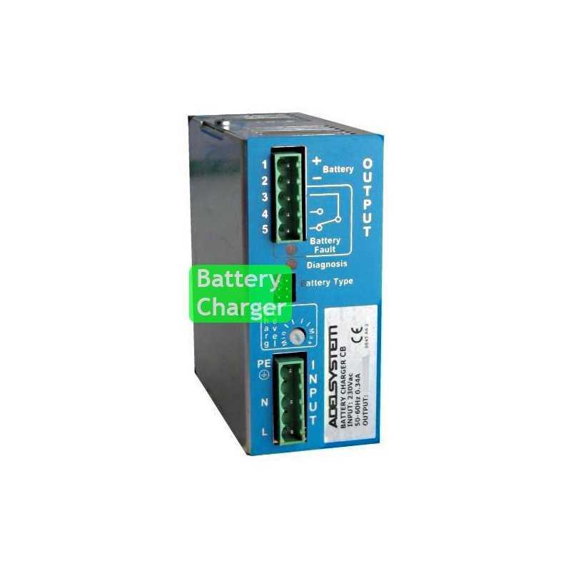 CB243A  CB243A- Carica Batterie Evoluto Adelsystem - 70W / 24V / 3A  Adelsystem  Caricabatterie