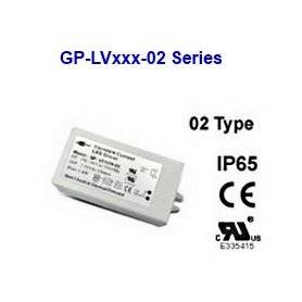LV2524-02 Glacial Power LV2524-02 Alimentatore LED Glacial Power - CV - 6W / 24V Alimentatori LED