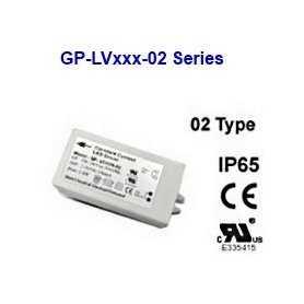 LV4124-02  LV4124-02 Alimentatore LED Glacial Power - CV - 10W / 24V   Glacial Power  Alimentatori LED