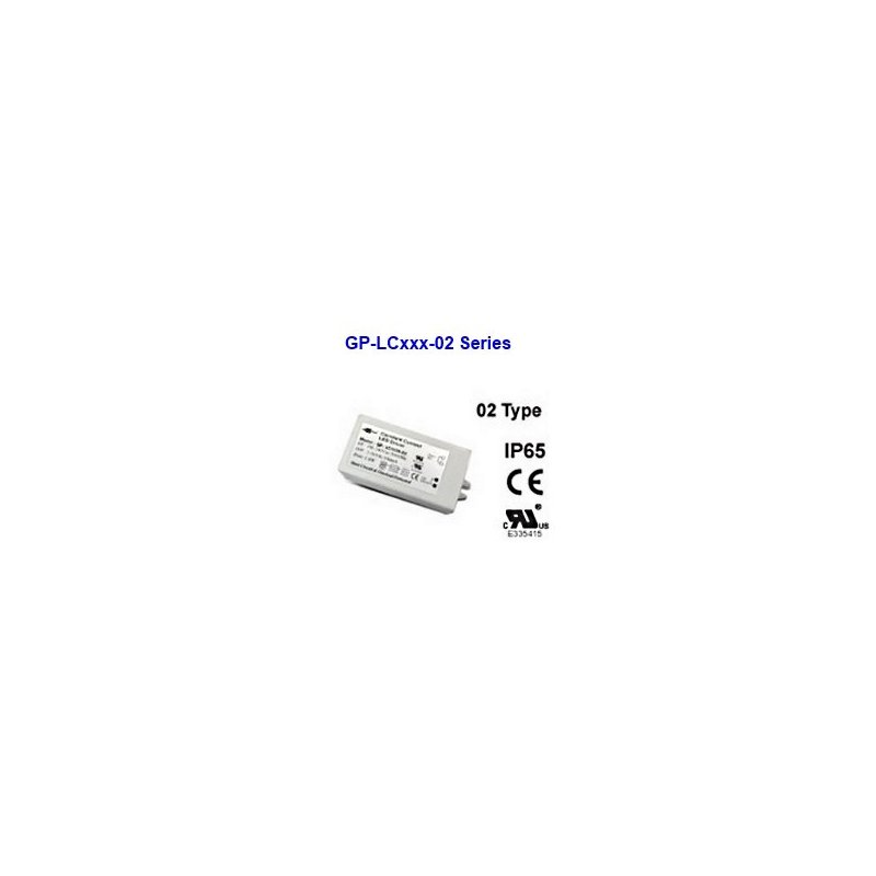 LC7021-02  LC7021-02 - Alimentatore LED Glacial Power - CC - 9W / 700mA   Glacial Power  Alimentatori LED