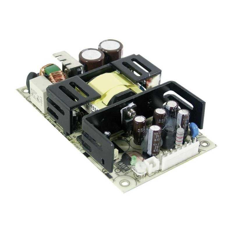 RPT-7503 MeanWell RPT-7503 - Alimentatore Meanwell - Open F. 75W 5V - Input 100-240 VAC Alimentatori Automazione