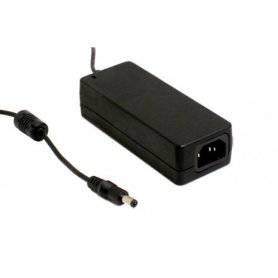 GS60A12-P1J - Alimentatore Meanwell - Desktop 60W 12V - Ingresso 100-240 VAC