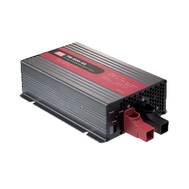 PB-600-12  PB-600-12- Carica Batterie Semplice MeanWell - 600W / 12V / 40A  MeanWell  Caricabatterie