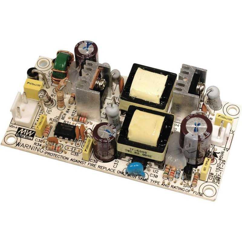 PSD-15B-5  PSD-15B-5 - Convertitore DC/DC Meanwell - Aperto - - 15W / 5V - Ingresso 24VDC  MeanWell  Alimentatori AC/DC