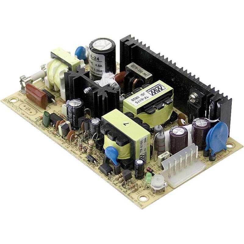PSD-45C-12  PSD-45C-12 - Convertitore DC/DC Meanwell - Aperto - - 45W / 12V - Ingresso 48VDC  MeanWell  Alimentatori AC/DC