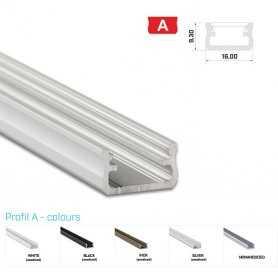 Profilo Alluminio LED MODELLO A - Serie Luminos , Profili Alluminio , Luminos Light