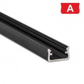 770.PAL.A  Profilo Alluminio LED Piatto da sottopensile - Modello A  Profili Alluminio