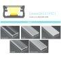 770.PAL.A Profilo Alluminio LED MODELLO A - Serie Luminos Profili Alluminio
