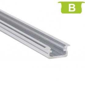 770.PAL.B  Profilo Alluminio LED da Incasso per legno - Modello B  Profili Alluminio