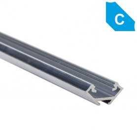 770.PAL.C  Profilo Alluminio LED Angolare - Modello C  Profili Alluminio