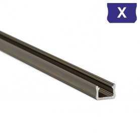 770.PAL.X  Profilo Alluminio LED Piatto per sottopensile - Modello X  Profili Alluminio