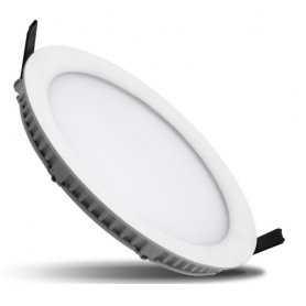PLAFONIERA LED 24W AD INCASSO IP40 da 3000K a 6000K 2300 Lumen Max