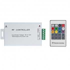 CONTROLLER RGB - Telecomando RF - 3CANALI | IN 12V~24V | 288W MAX