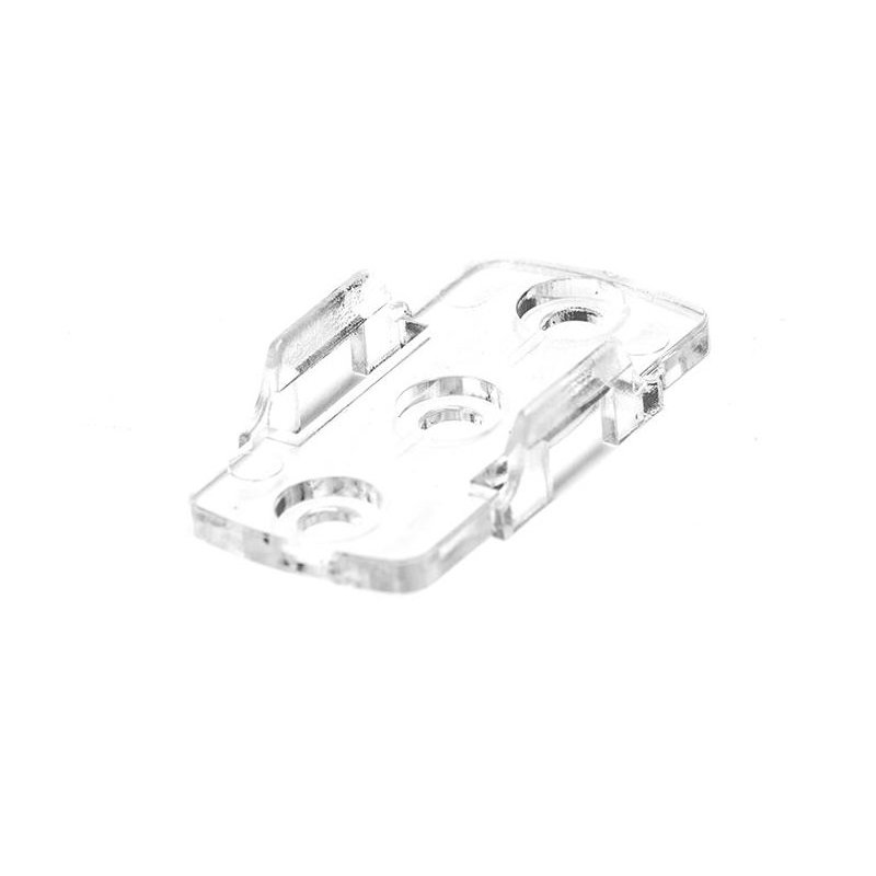 PS-PAS-CLIP PS-PAS-CLIP - Clip di fissaggio a muro per barra quadra Power-Supply Accessori Illuminazione