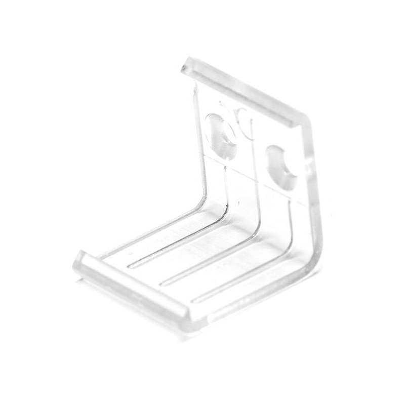 PS-PAN-CLIP PS-PAN-CLIP - Clip di fissaggio a muro per barra ANGOLARE Power-Supply Accessori Illuminazione