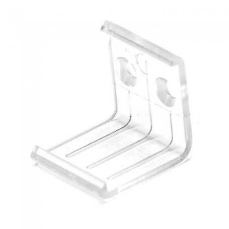 PS-PAN-CLIP - Clip di fissaggio a muro per barra ANGOLARE