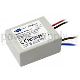 HS08N-11C  HS08N-11C - Alimentatore LED Glacial Power - CC - 8W / 680mA   Glacial Power  Alimentatori LED
