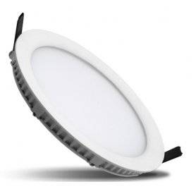 PLAFONIERA LED 16,5W AD INCASSO IP40 da 3000K a 6000K 1600 Lumen Max